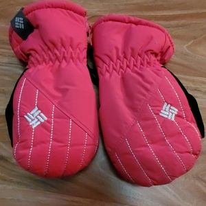 🦋$6 or 6/$20 0/S Toddler Columbia Mittens